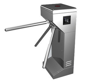 चीन Time Attendance / Tolling 0.2S Stainless Steel ID Card Tripod Turnstile Gate for Musem फैक्टरी