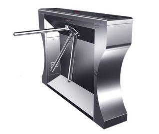 चीन Intelligent Electrical Stainless Tripod Turnstile For Bus Station फैक्टरी