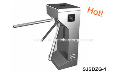 चीन Digital Double Direction Stainless Steel ID Card Tripod Turnstile Gate for Supermarket फैक्टरी