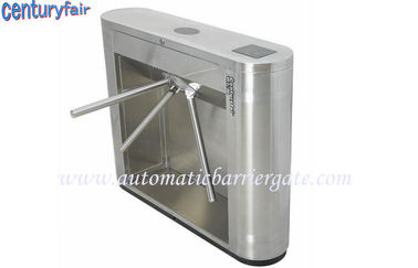 चीन Stainless Steel Tripod Turnstile Gates For Supermarket Time Attendance फैक्टरी