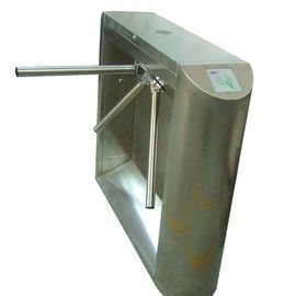 चीन 0.2s Access Control, Time Attendance Stainless Steel Tripod Turnstile Gate for Library फैक्टरी