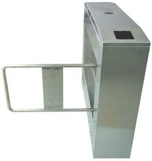 चीन Two-way Direction 180 Angle 304# Stainless Steel Automatic Swing Gate Barrier AC220V 50Hz फैक्टरी