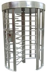 चीन Outdoor Rustproof Full Height Turnstile with Light Alarm for Park RS485 AC220V 50Hz RS485 फैक्टरी