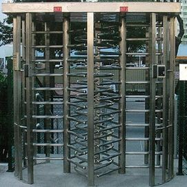 चीन 30 Persons / Min Stainless Full Height Turnstile with Sound and Light Alarm for Museum फैक्टरी