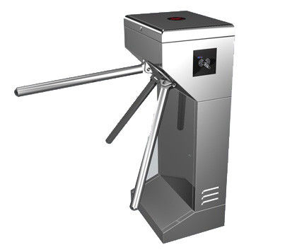 Time Attendance / Tolling 0.2S Stainless Steel ID Card Tripod Turnstile Gate for Musem आपूर्तिकर्ता
