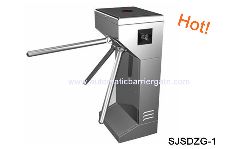 Digital Double Direction Stainless Steel ID Card Tripod Turnstile Gate for Supermarket आपूर्तिकर्ता