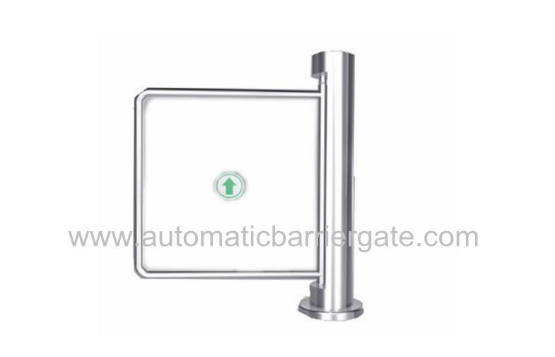 Auto Reset 90 Angle Single Directional Stainless Manual Swing Gate Barrier for Exhibition आपूर्तिकर्ता