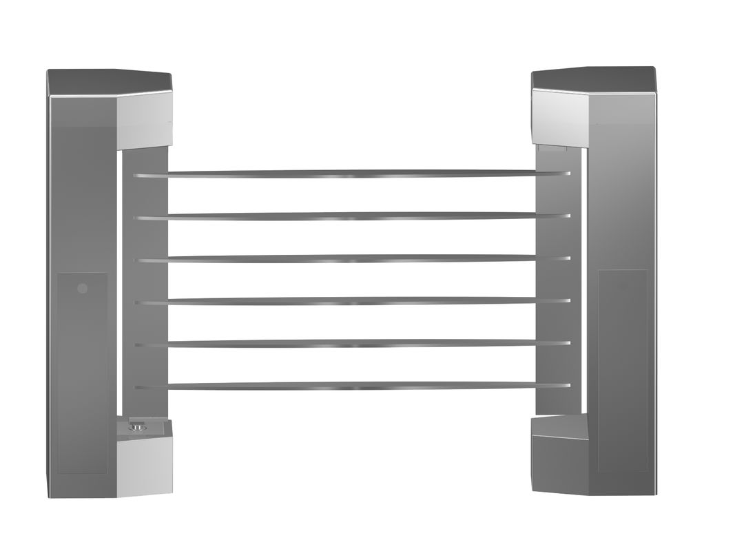 Indoor 180 Angle Two-way Direction Manual Swing Gate with 304# Stainless Steel Plate आपूर्तिकर्ता
