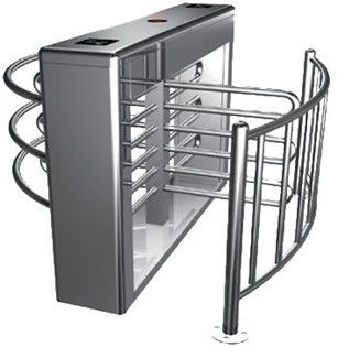 Two-way Direction Automatic Rotation Full Height Turnstile with LED Display for Apartment आपूर्तिकर्ता