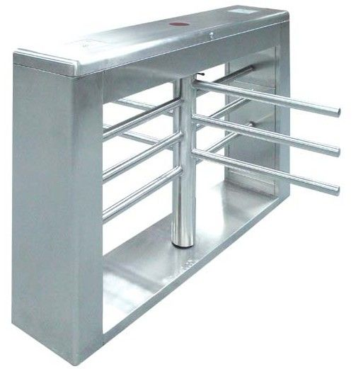 One-way Direction Automatic Rotation Full Height Turnstile with LED Display for Museum आपूर्तिकर्ता