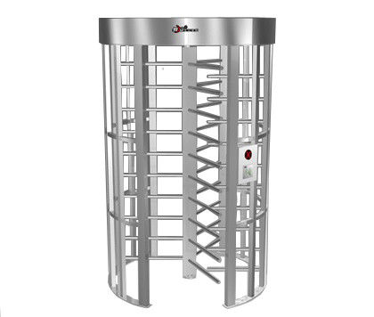0.2S Electric Security Stainless Steel Full Height Turnstile with Light Alarm RS485 आपूर्तिकर्ता